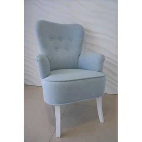 Fotel uszak błękitny