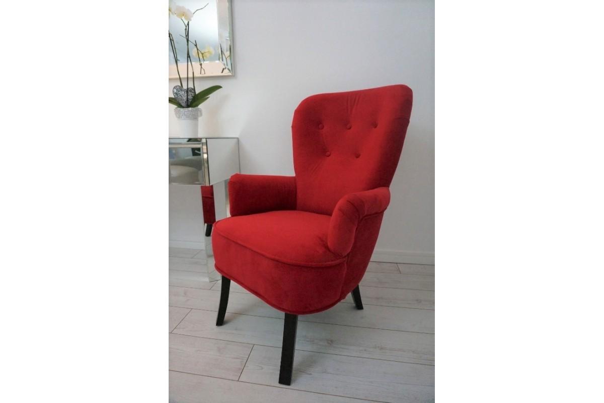 Fotel USZAK czerwony