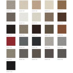 Eco skóra MADRYT Narożnik SORGO w kolorze ciemnoszarym
