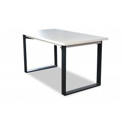 Stół laminat prostokąt VENUS 150x80 + wkładka 40 cm Zestaw nr.53