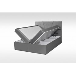 dwa pojemniki na pościel łóżko GLOW