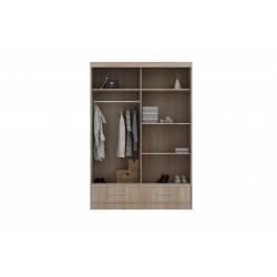 wnętrze szafy 150 Sypialnia Anhydryt