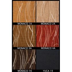 Tkanina MONACO Zestaw nr.54, kolor blatu: biały połysk