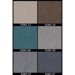 Tkanina SORO Zestaw nr.54, kolor blatu: biały połysk