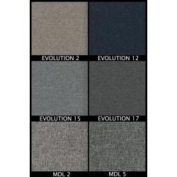 Tkanina EVOLUTION, MDL Zestaw nr.54, kolor blatu: biały połysk