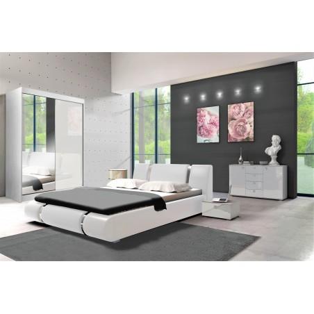 Sypialnia LUXE w kolorze białym