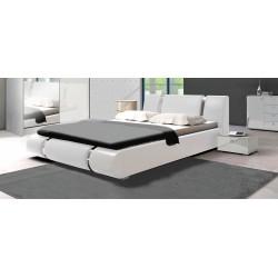 Łóżko LUXURY w kolorze białym Sypialnia LUXE w kolorze białym