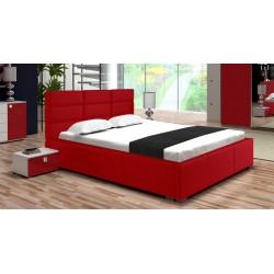 Łóżko PERŁA czerwone
